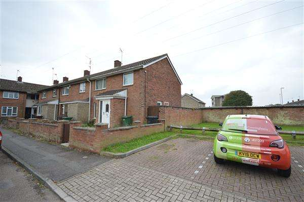 3 Bedrooms Semi Detached House for sale in CAYTHORPE SQUARE, CORBY