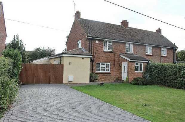 3 Bedrooms Semi Detached House for sale in Felsted, Great Dunmow, Essex