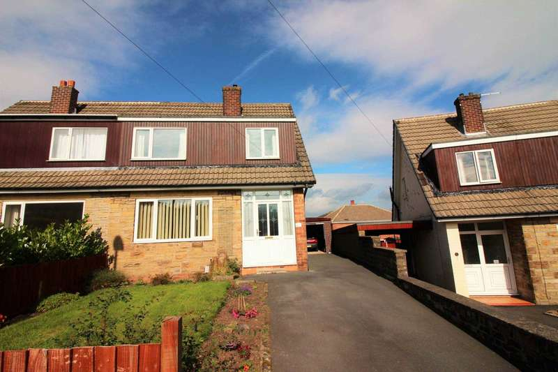 3 Bedrooms Semi Detached House for sale in Bracewell Road, Meltham