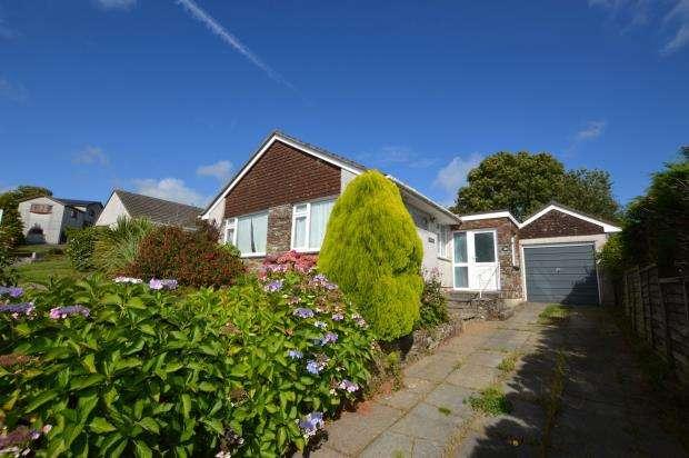 3 Bedrooms Detached Bungalow for sale in Barton Meadow, Pillaton, Saltash, Cornwall