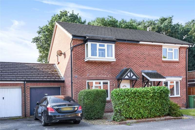 3 Bedrooms Semi Detached House for sale in Haining Gardens, Mytchett, Camberley, Surrey, GU16