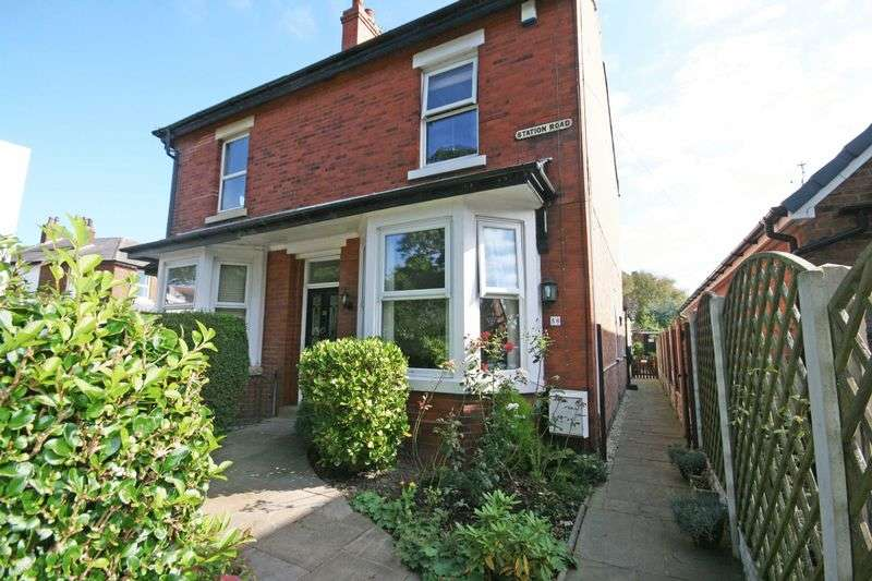 3 Bedrooms Semi Detached House for sale in 58 Station Road, Poulton Le Fylde