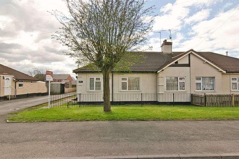 3 Bedrooms Semi Detached Bungalow for sale in Watling Street, Bridgtown