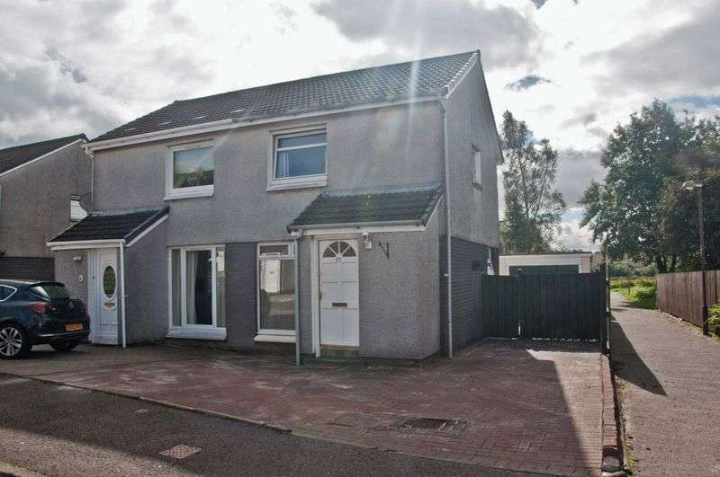 2 Bedrooms Semi Detached House for sale in Brookfield Place, Alva