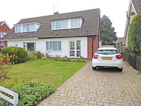 3 Bedrooms Semi Detached House for sale in Westgarth Gardens, BURY ST. EDMUNDS IP33 3LG