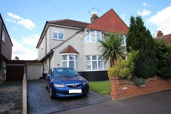 4 Bedrooms Semi Detached House for sale in BELMONT AVENUE, WELLING