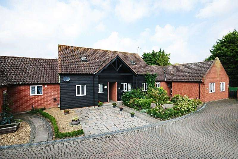 2 Bedrooms Link Detached House for sale in Bell Meadow, Rickinghall, Diss