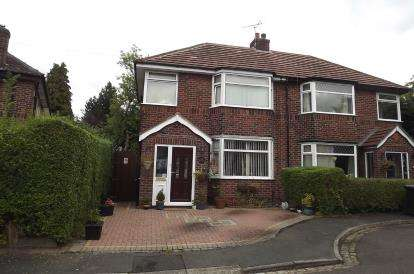 3 Bedrooms Semi Detached House for sale in Lacey Avenue, Wilmslow, Cheshire