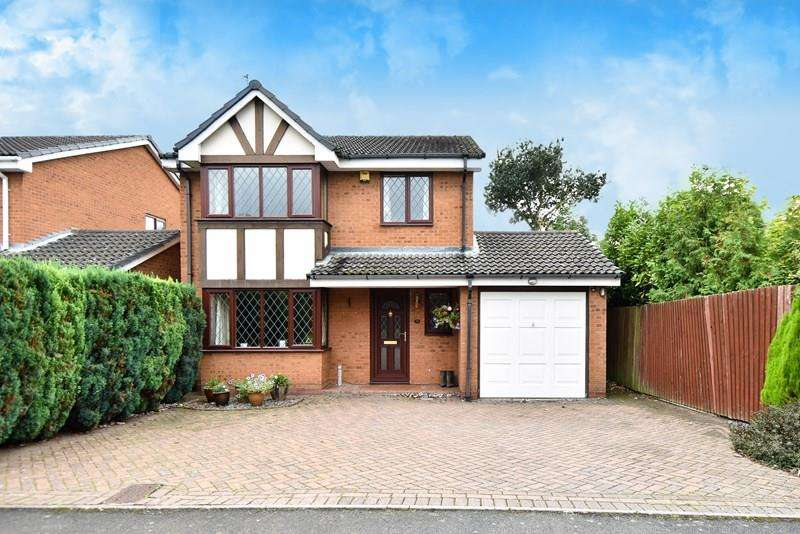 4 Bedrooms Detached House for sale in Avoncroft Road, Stoke Heath, Bromsgrove