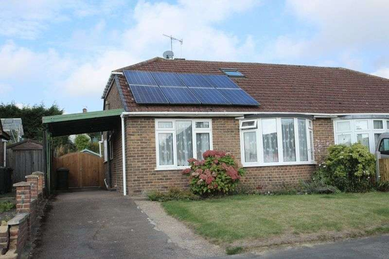 4 Bedrooms Semi Detached Bungalow for sale in Pen Way, Tonbridge