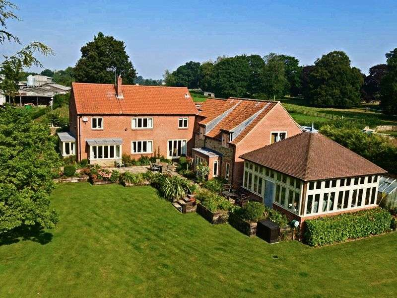 5 Bedrooms Detached House for sale in Nordham, North Cave