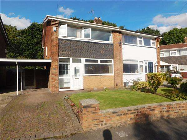 3 Bedrooms Semi Detached House for sale in Saville Road, Gatley, Cheshire