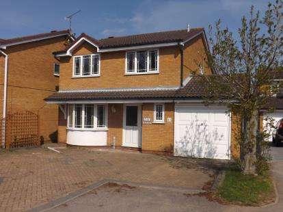 4 Bedrooms Detached House for sale in Wertheim Way, Huntingdon, Cambridgeshire