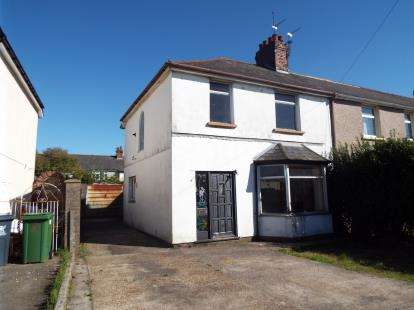 3 Bedrooms Semi Detached House for sale in Clydesmuir Road, Tremorfa, Cardiff, Wales