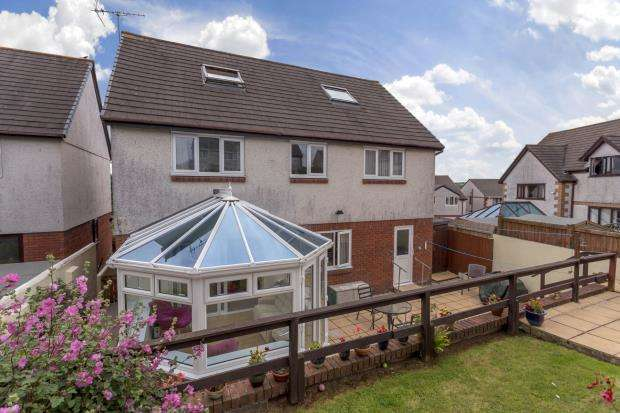 6 Bedrooms Detached House for sale in Barrow Down, Latchbrook, Saltash, Cornwall
