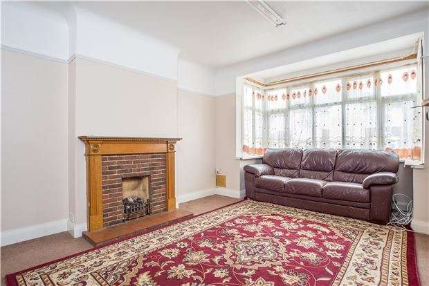 3 Bedrooms Semi Detached House for sale in Rosedene Avenue, MORDEN, Surrey, SM4 5RA