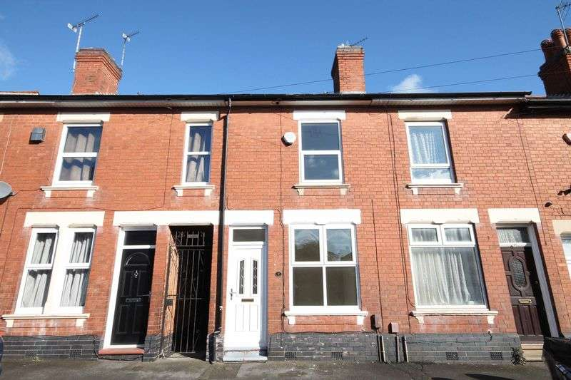 2 Bedrooms House for sale in Birdwood Street, Derby