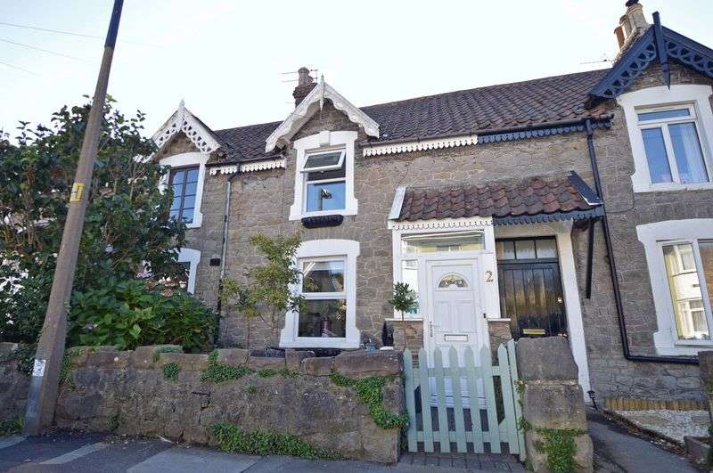 2 Bedrooms Terraced House for sale in Meadow Road, Clevedon