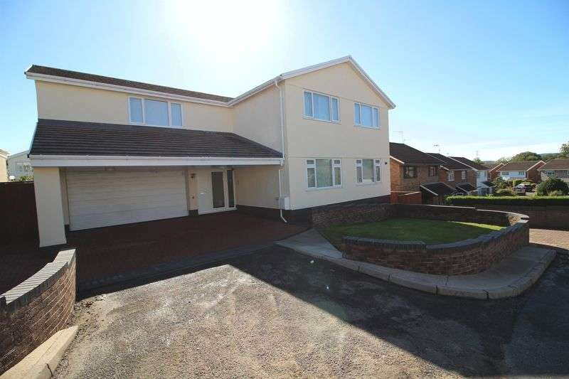 5 Bedrooms Detached House for sale in Heol Tir Coch, Efail Isaf, Pontypridd, CF38 1BW