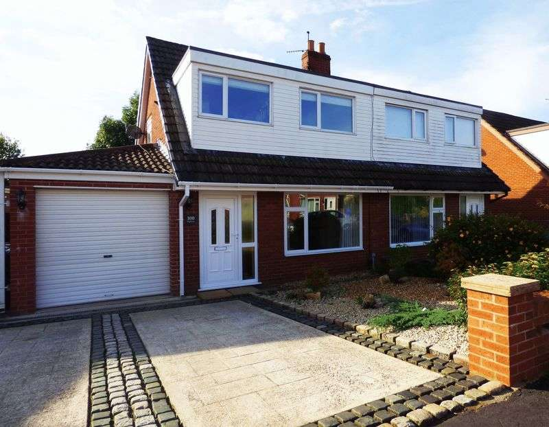 3 Bedrooms Semi Detached House for sale in Highways Avenue, Euxton