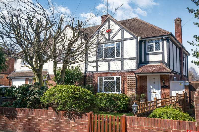 3 Bedrooms Semi Detached House for sale in Liberty Rise, Row Town, Addlestone, Surrey, KT15