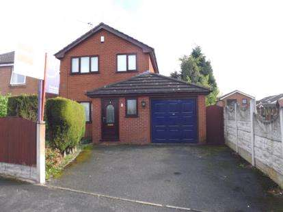3 Bedrooms Detached House for sale in Tinkersfield, Leigh, Greater Manchester