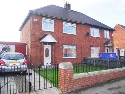 3 Bedrooms Semi Detached House for sale in Steele Crescent, Middlesbrough, North Yorkshire