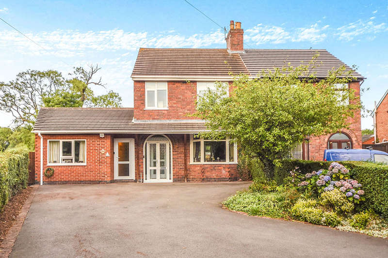 3 Bedrooms Semi Detached House for sale in Markfield Road, Ratby, Leicester, LE6