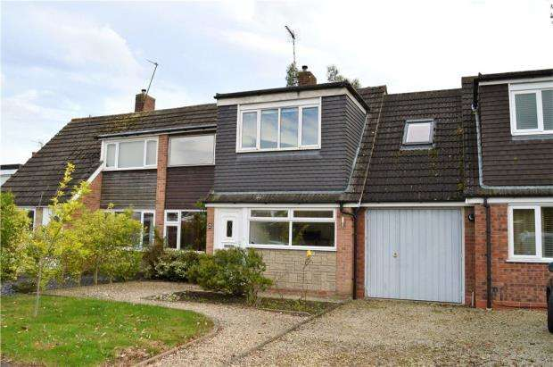 4 Bedrooms Terraced House for sale in Delamere Way, Lillington, Leamington Spa, Warwickshire