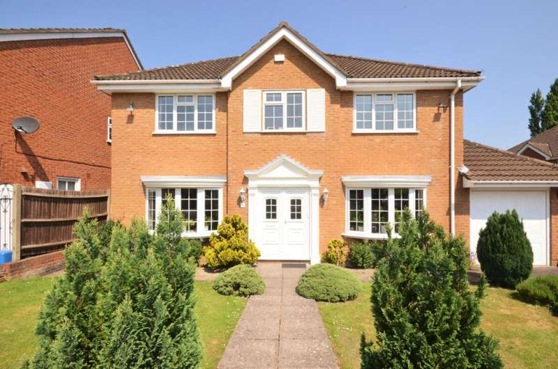 5 Bedrooms Detached House for sale in Sheraton Close, Elstree, Borehamwood, Hertfordshire, WD6