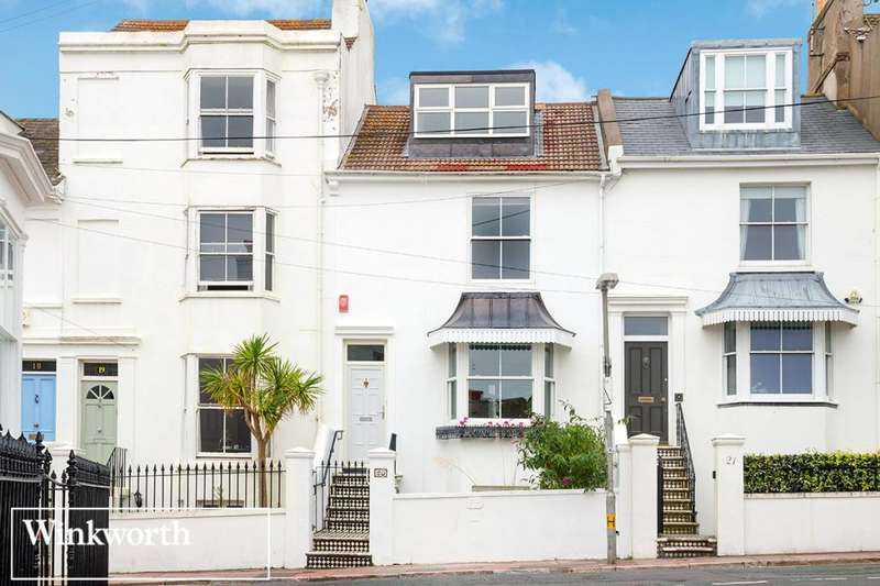 4 Bedrooms Terraced House for sale in Clifton Hill, Brighton, East Sussex, BN1