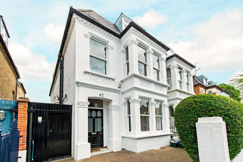 5 Bedrooms Semi Detached House for sale in Homefield Road, London, W4