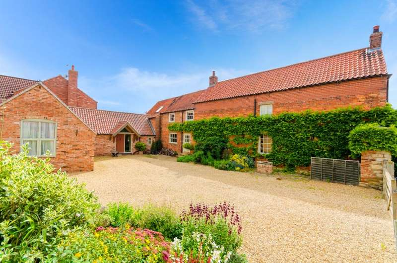 5 Bedrooms Detached House for sale in Long Street, Foston, Grantham, NG32