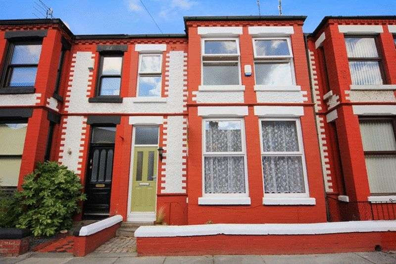 4 Bedrooms Terraced House for sale in Chestnut Grove, Wavertree, Liverpool, L15