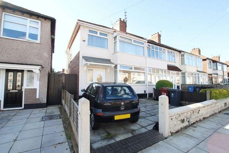 3 Bedrooms Semi Detached House for sale in Milton Avenue, Swanside, Liverpool, L14