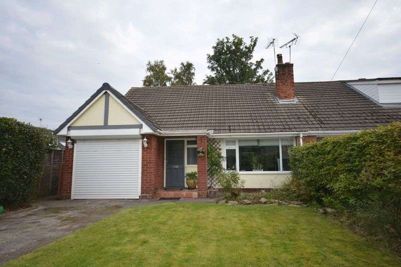 3 Bedrooms Semi Detached Bungalow for sale in St. Oswalds Crescent, Sandbach