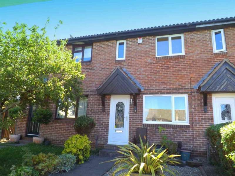 2 Bedrooms Terraced House for sale in Doddridge Close, Staddiscombe