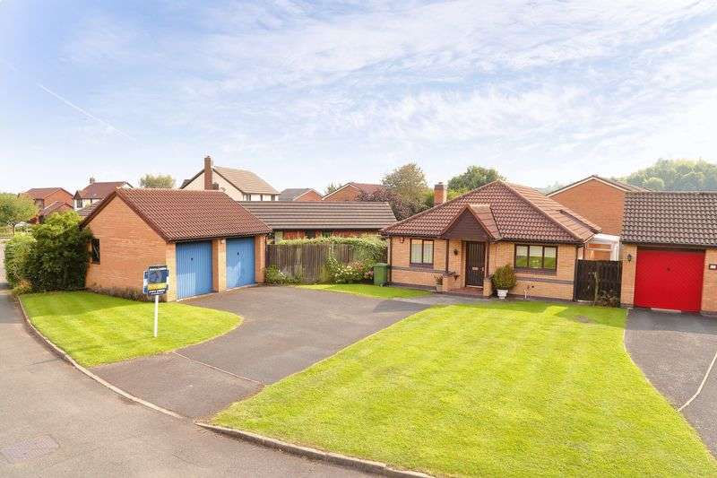 3 Bedrooms Detached Bungalow for sale in Ennerdale Close, Priorslee