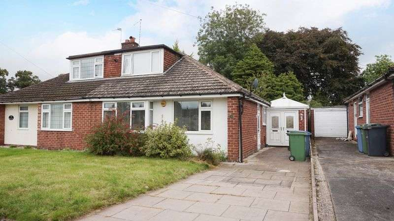4 Bedrooms Semi Detached Bungalow for sale in Sycamore Drive, Lymm