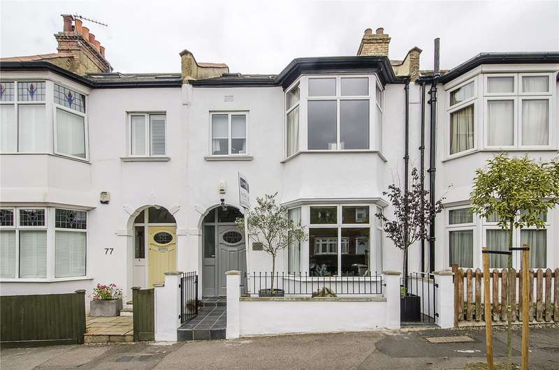 4 Bedrooms Terraced House for sale in Tulsemere Road, London, SE27