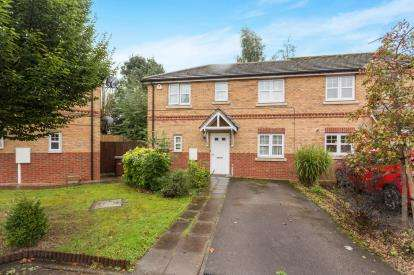 3 Bedrooms Semi Detached House for sale in Melbourne Court, Aspley, Nottingham, Nottinghamshire