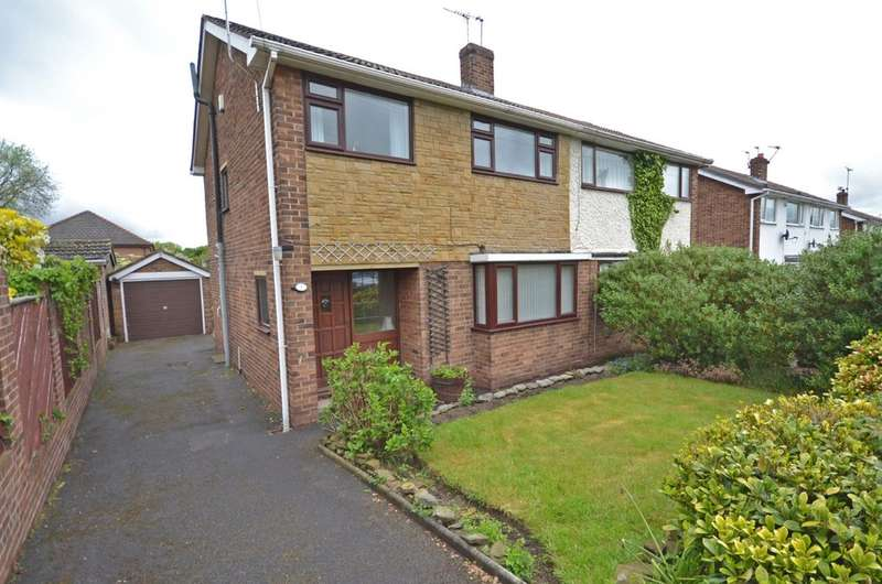 3 Bedrooms Semi Detached House for sale in Beech Croft, Walton, Wakefield
