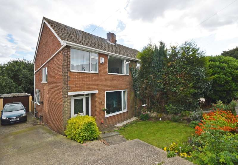 3 Bedrooms Semi Detached House for sale in Manor Rise, Walton, Wakefield