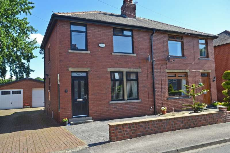 2 Bedrooms Semi Detached House for sale in Sowood Avenue, Ossett