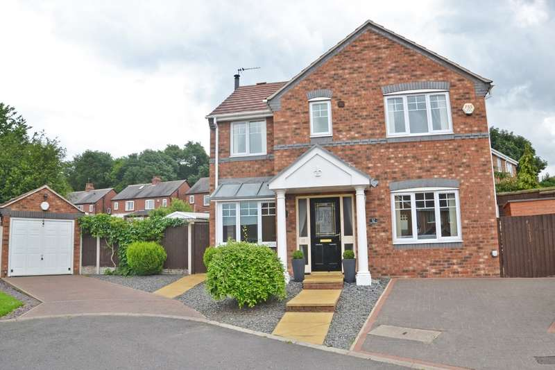 4 Bedrooms Detached House for sale in Pippins Approach, Normanton