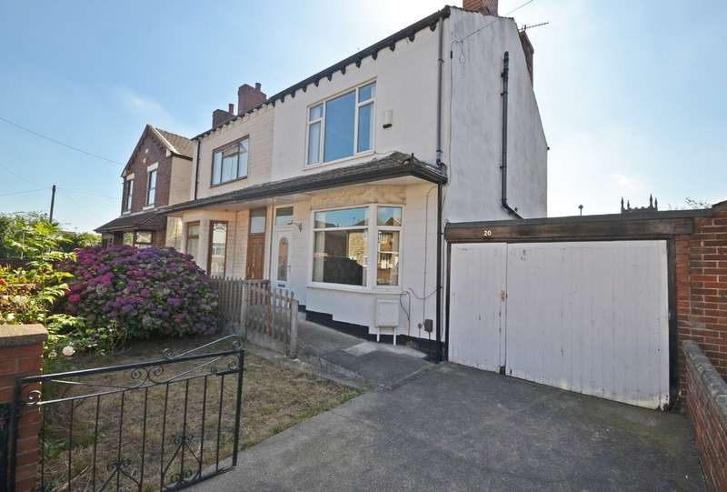 3 Bedrooms Semi Detached House for sale in The Grove, Normanton