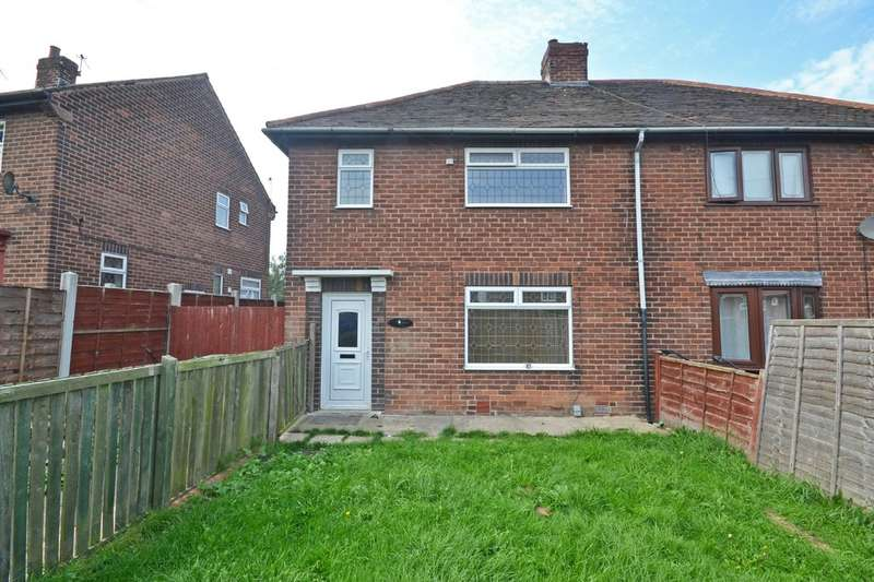 2 Bedrooms Semi Detached House for sale in Sunny Bank, Normanton