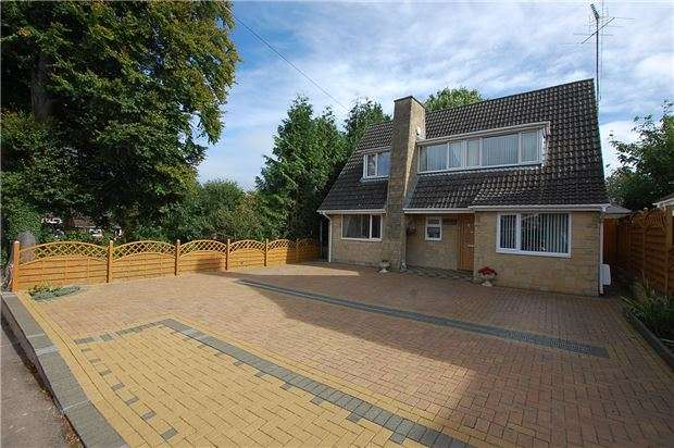 3 Bedrooms Detached House for sale in Copt Elm Road, Charlton Kings, CHELTENHAM, Gloucestershire, GL53 8AG