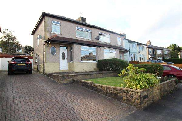 3 Bedrooms Semi Detached House for sale in Golf Avenue, Norton Tower, Halifax