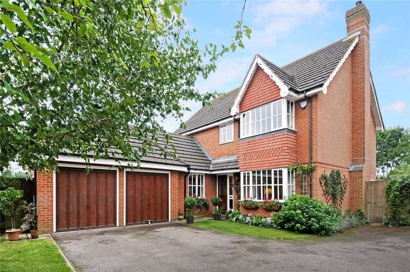 4 Bedrooms Detached House for sale in Diana Close, Spencers Wood, Reading, Berkshire, RG7